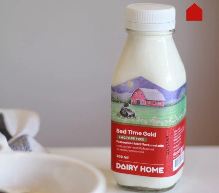 Dairy Home's lactose free products